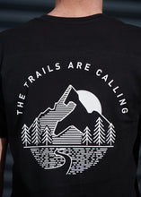 Load image into Gallery viewer, The Trails Are Calling T-Shirt Black