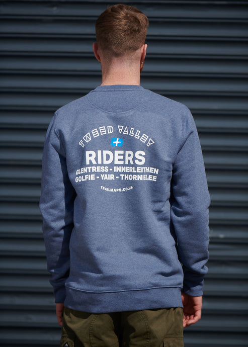 Tweed Valley Riders Sweater