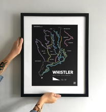 Load image into Gallery viewer, Whistler Bike Park Art Print