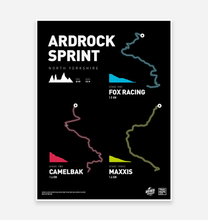Load image into Gallery viewer, Ardrock Sprint 2018 - TrailMaps.co.uk