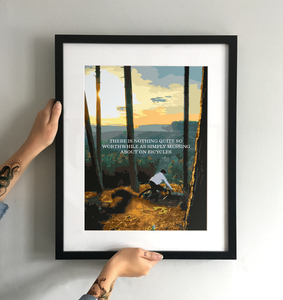Nothing Quite So Simple Art Print