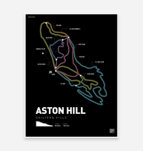 Load image into Gallery viewer, Aston Hill Bike Park Art Print