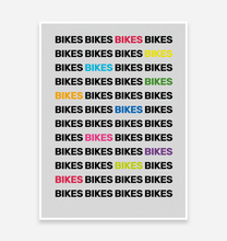Load image into Gallery viewer, Bike Mad Art Print - TrailMaps.co.uk