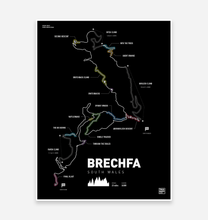 Load image into Gallery viewer, Brechfa Forest - TrailMaps.co.uk