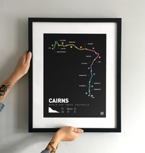 Load image into Gallery viewer, Cairns World Cup MTB Art Print