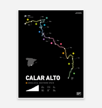 Load image into Gallery viewer, Calar Alto Art Print - TrailMaps.co.uk