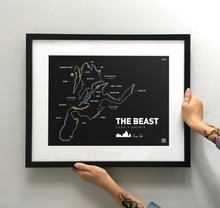 Load image into Gallery viewer, The Beast at Coed Y Brenin - TrailMaps.co.uk