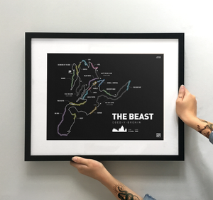 The Beast at Coed Y Brenin - TrailMaps.co.uk