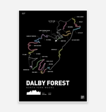 Load image into Gallery viewer, Dalby Forest Art Print - TrailMaps.co.uk