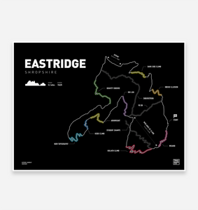 Eastridge Trail Map Print