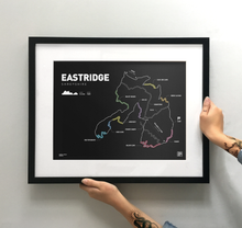 Load image into Gallery viewer, Eastridge Trail Map Print