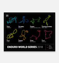 Load image into Gallery viewer, Enduro World Series Art Print - TrailMaps.co.uk