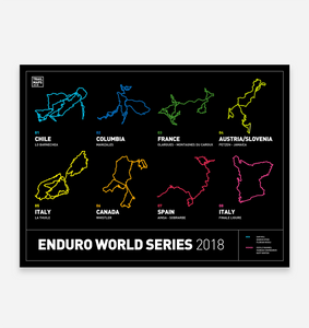 Enduro World Series Art Print