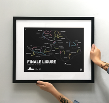 Load image into Gallery viewer, Finale Ligure Art Print - TrailMaps.co.uk