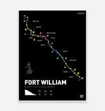 Load image into Gallery viewer, Fort William World Cup Art Print - TrailMaps.co.uk