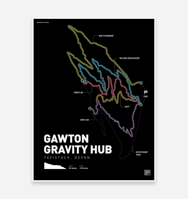 Gawton Gravity Hub Art Print