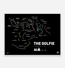 Load image into Gallery viewer, The Golfie | Innerleithen Art Print - TrailMaps.co.uk