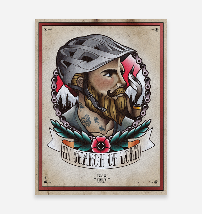 'In Search of Loam' Art Print