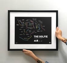 Load image into Gallery viewer, The Golfie | Innerleithen Art Print