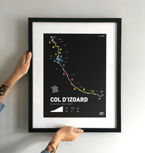 Load image into Gallery viewer, Col D'Izoard | Art Print - TrailMaps.co.uk