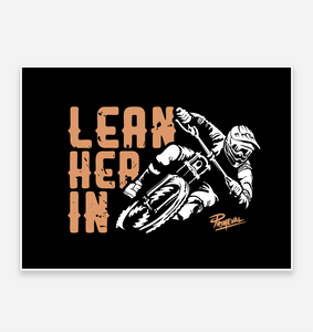 'Lean Her In' Art Print