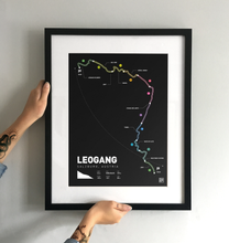 Load image into Gallery viewer, Leogang World Cup Art Print - TrailMaps.co.uk
