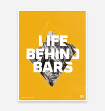 "Load image into Gallery viewer, ""Life Behind Bars"" Special Edition Art Print - TrailMaps.co.uk"