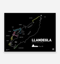 Load image into Gallery viewer, Llandegla Trail map Print