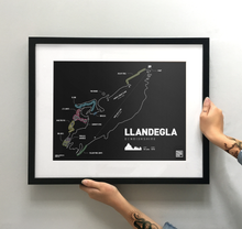 Load image into Gallery viewer, Llandegla Trail map Print - TrailMaps.co.uk