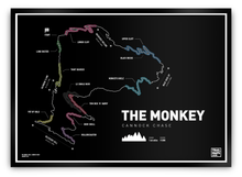 Load image into Gallery viewer, The Monkey Trail Art Print - TrailMaps.co.uk