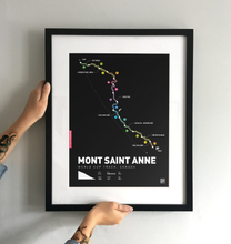 Load image into Gallery viewer, Mont Saint Anne World Cup Art Print - TrailMaps.co.uk