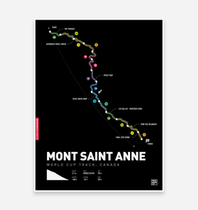 Mont Saint Anne World Cup Art Print