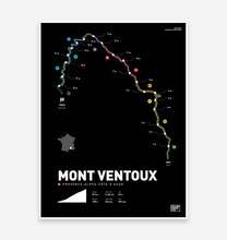 Load image into Gallery viewer, Mont Ventoux | Art Print - TrailMaps.co.uk