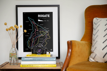 Load image into Gallery viewer, Rogate Bike Park Art Print