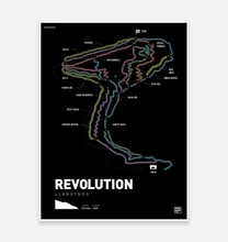 Load image into Gallery viewer, Revolution Trail Map Print