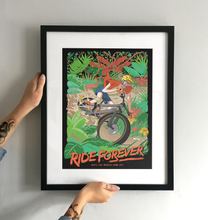 Load image into Gallery viewer, 'Ride Forever' Art Print - TrailMaps.co.uk