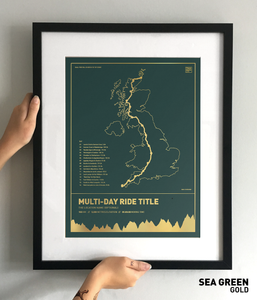 Design Your Own Multi-Day Trail Map