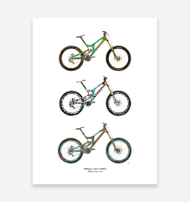 Peaty's Last Orders Art Print - TrailMaps.co.uk