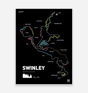 Swinley Forest Art Print
