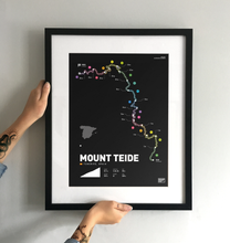 Load image into Gallery viewer, Mount Teide Art Print - TrailMaps.co.uk