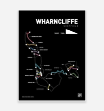 Load image into Gallery viewer, Wharncliffe and Grenoside Art Print - TrailMaps.co.uk
