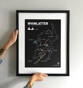 Whinlatter Art Print - TrailMaps.co.uk