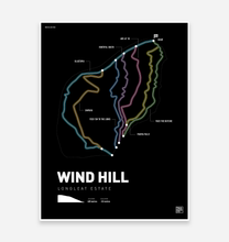 Load image into Gallery viewer, Wind Hill Bike Park Art Print