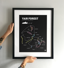 Load image into Gallery viewer, Yair Forest Art Print - TrailMaps.co.uk