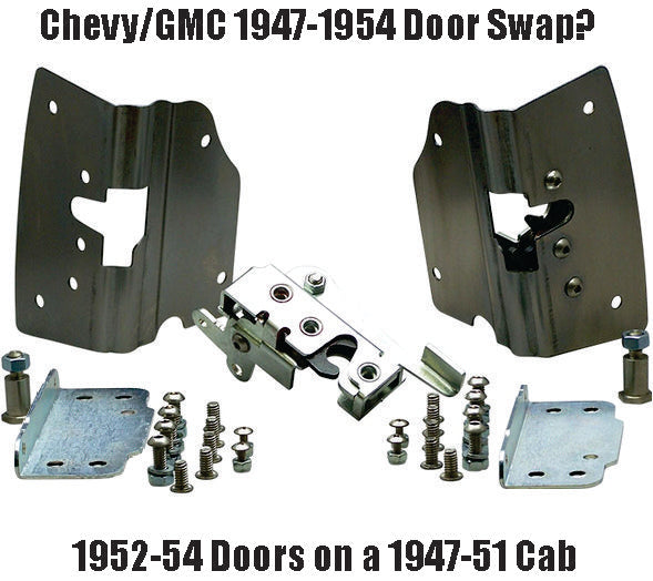 Door Swap 52-54 Doors on a 47-51 Cab - Altman Easy Latches
