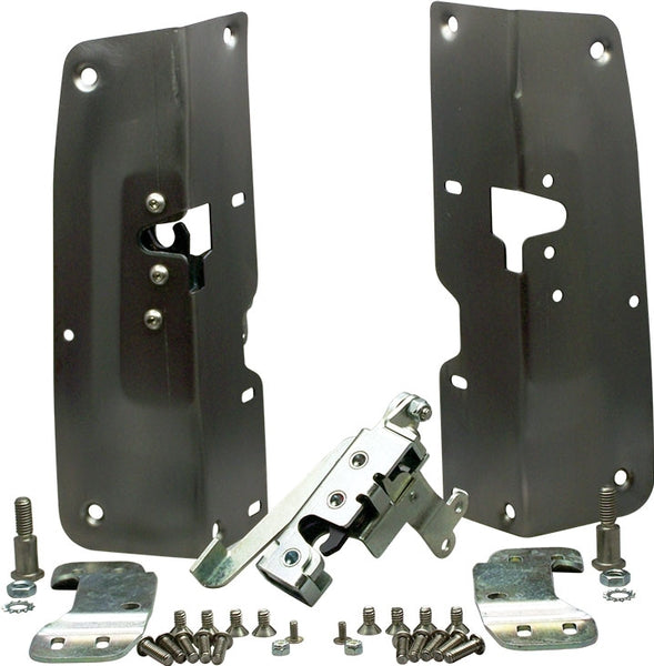 Bolt-on Bear Jaw Door Latches for 1955-1959 Chevy Truck - Altman Easy Latches