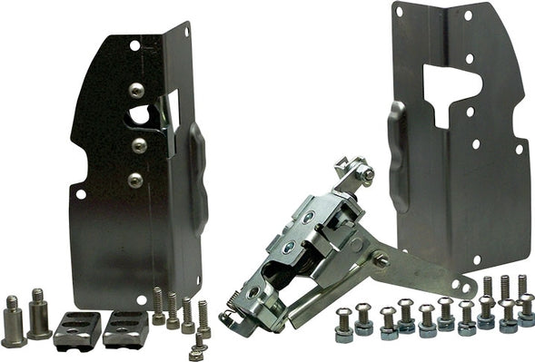 Bolt-on Door Latches for 1948-1952 Ford F-1 Truck - Altman Easy Latch