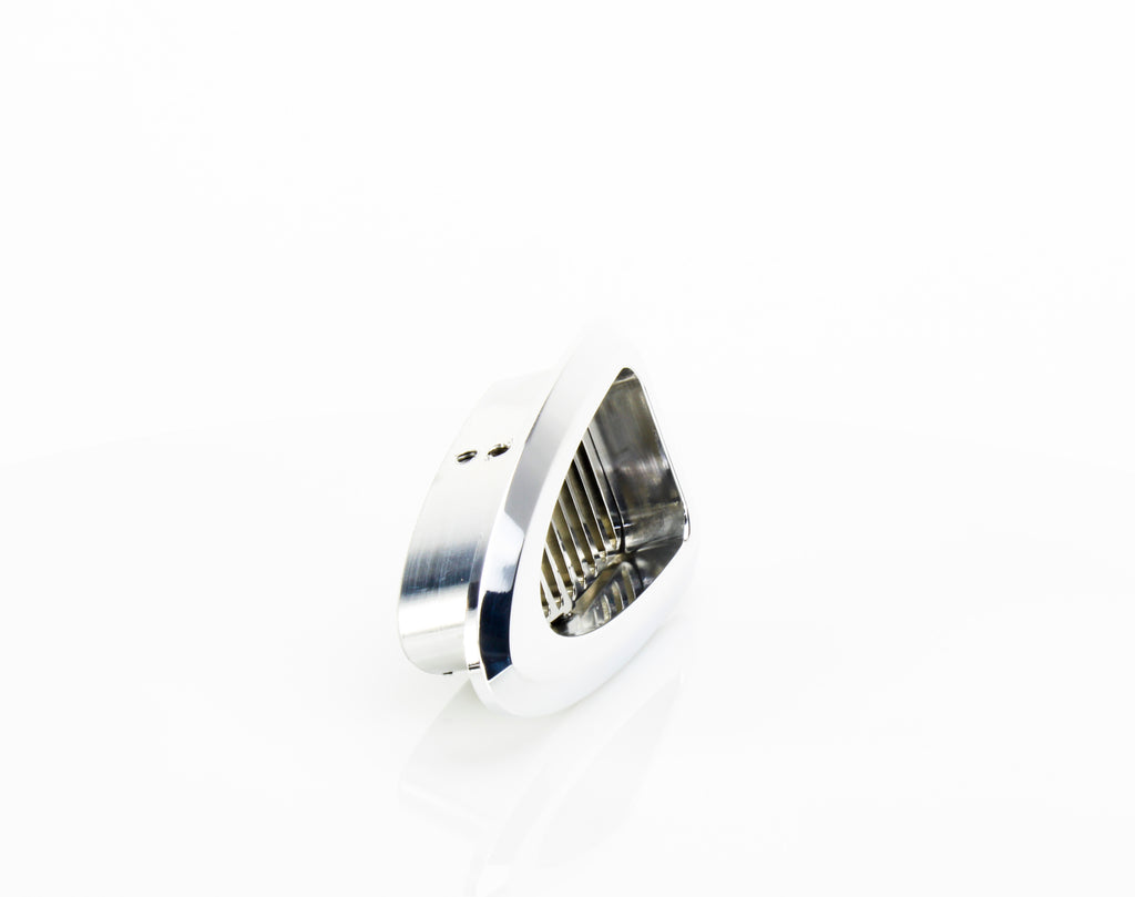 Triangular A/C Vent with 30 Degree Bezel