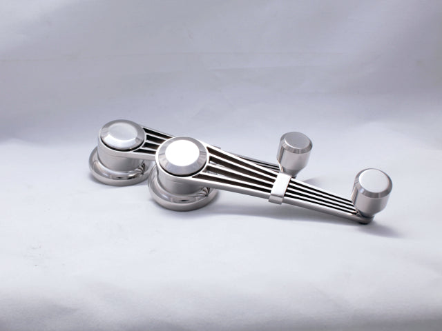 Banjo Style Door Handles and Window Cranks - Fully Stainless Steel