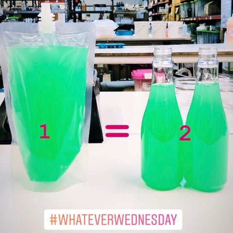 Whatever Wednesday OCD Hand Sanitizer Events